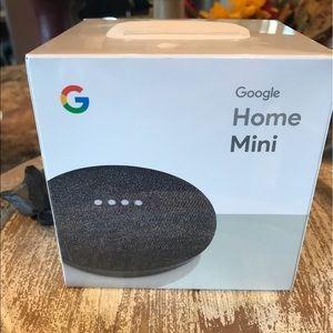 🎙 Google Home Mini New Sealed Charcoal Speaker
